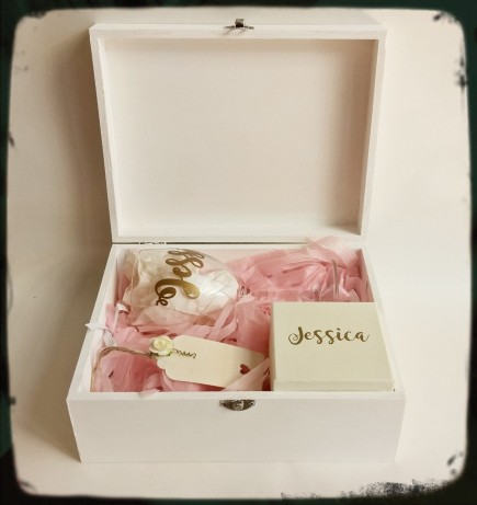Personalised Bridesmaid Box