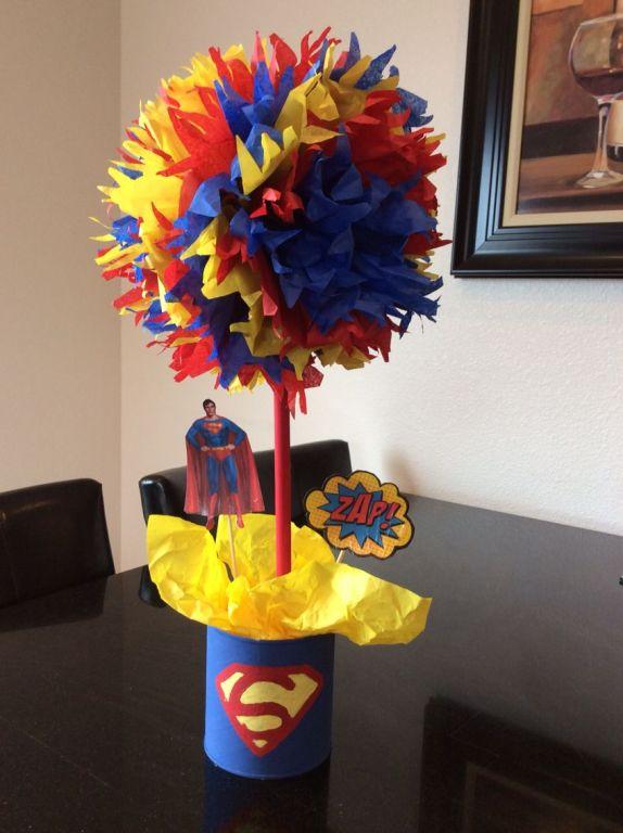 Superman centerpiece _ My accomplishments _ Pinterest ___