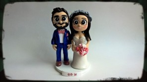 Bearded Groom Navy and Pink Theme