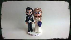 WeddingToppersGoldGroomBeard