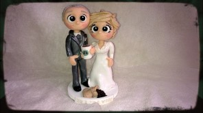 Starbucks Coffee Wedding Toppers
