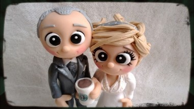 Close up Starbucks Toppers