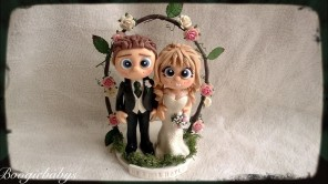Floral Arch Wedding Toppers