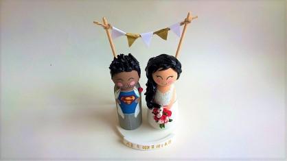 Super hero themed wedding