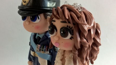 RAF Military Armed Forces Wedding Toppers