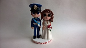 Military Armed Forces RAF Wedding Birthday Cake Toppers